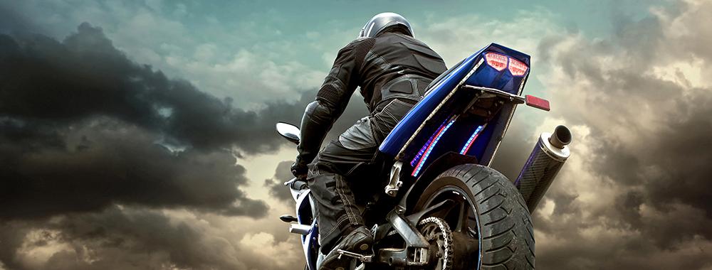 Motorbike Drug Riding